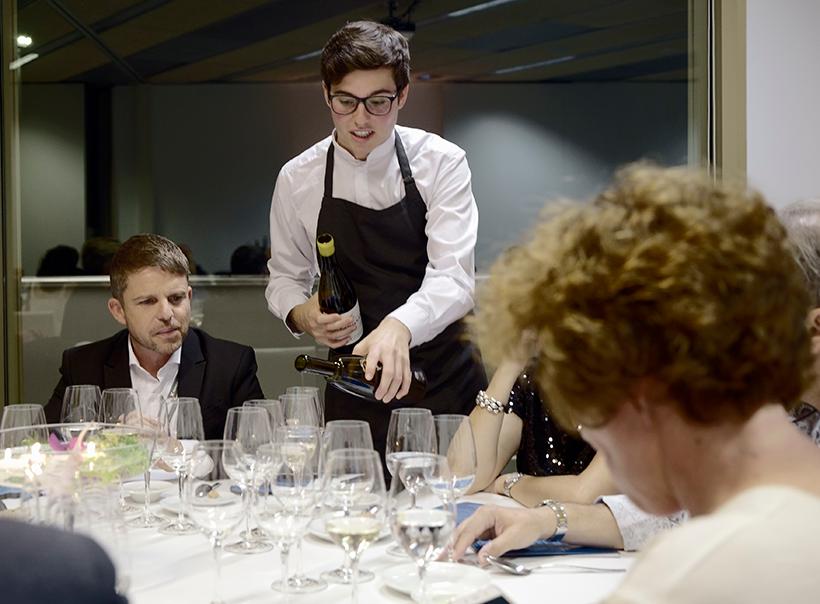 David Pérez, consejero delegado de Turismo en el Cabildo de Tenerife, en uno de los actos de Gastronomika