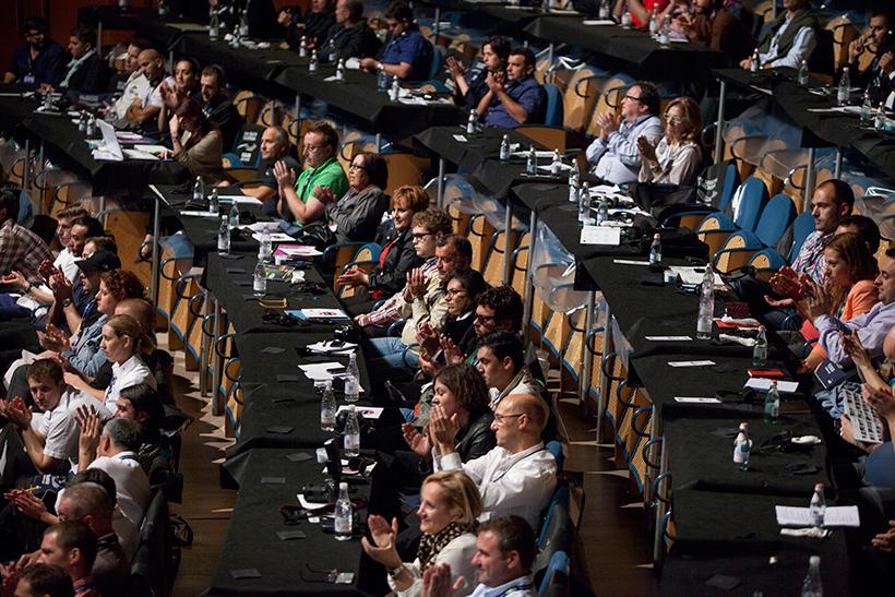 Público asistente a una edición de Gastronomika | Foto: Coconut