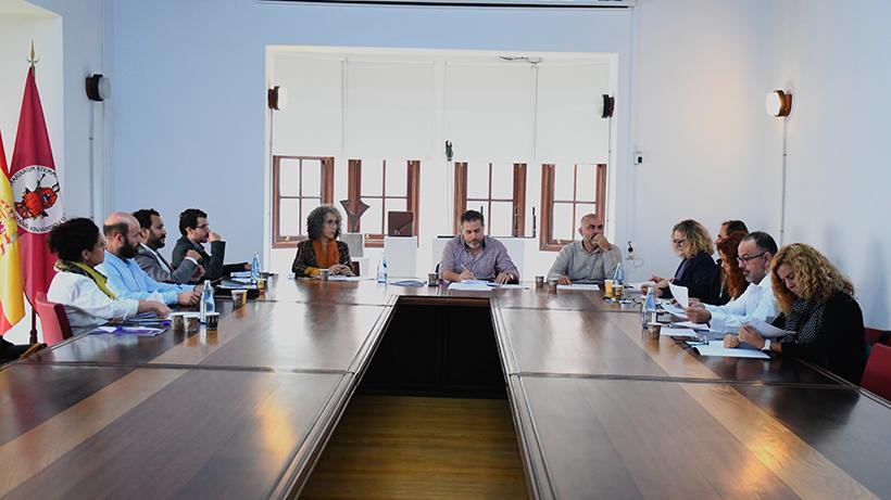 Reunión del jurado de los Premios Enogastroturismo de la ULL