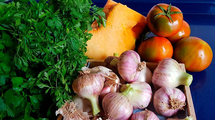 Los productos de mercado siguen siendo los protagonistas de esta muestra gastronómica | Foto: J. L. Conde