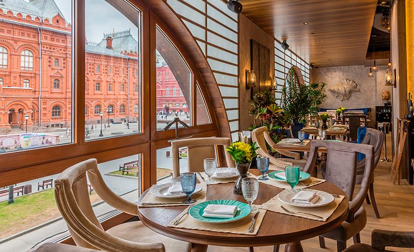 El restaurante Peshi está considerado como uno de los más conocidos de Moscú