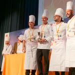 El equipo de ACYRE Canarias recoge el tercer premio del Certamen Nacional de Cocineros