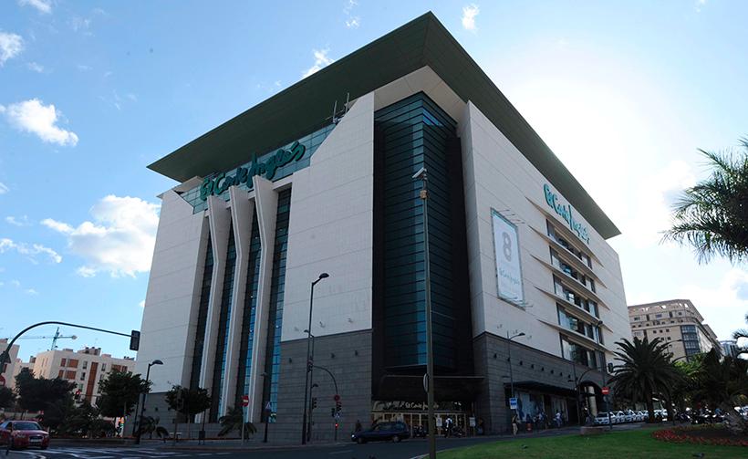 Edificio de El Corte Inglés de Tres de Mayo