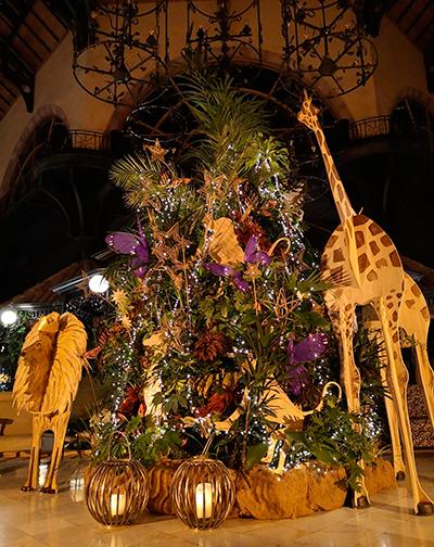 La temática de la decoración es un guiño al cuidado del planeta