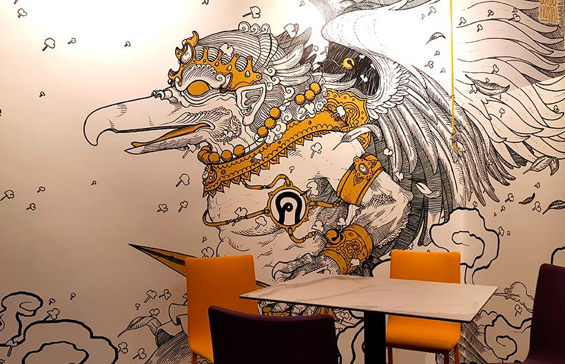 Detalle de la decoración del restaurante Jaxana | Foto: José L. Conde