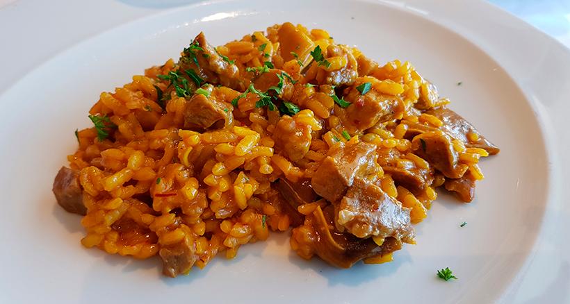 Plato de arroz del restaurante de El Corte Inglés en Tenerife | Foto: J. L. Conde