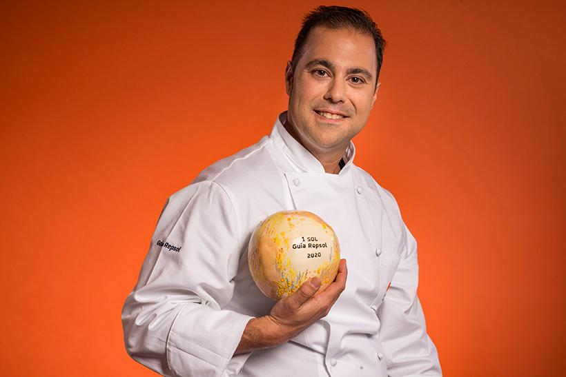 Gonzalo Calzadilla, chef de Isla de Lobos