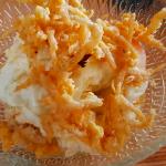 Ensaladilla de papas con ventresca, huevo frito y chanquetes rebozados | Foto: José L. Conde