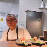 El chef japonés Mitsuru Maeda   Foto: José L. Conde