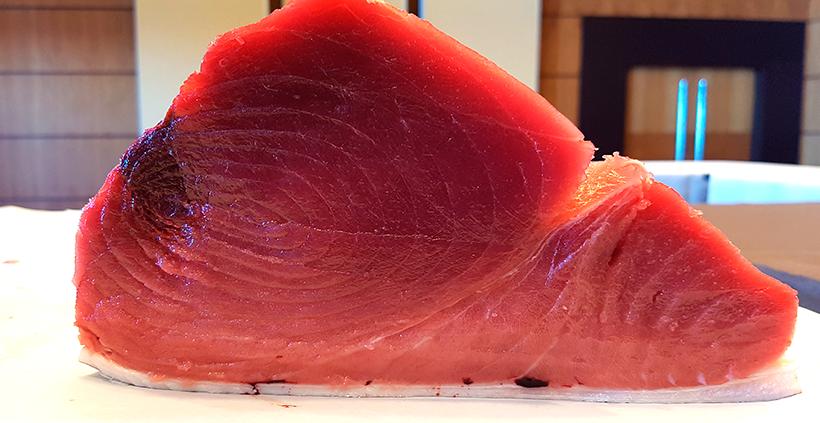 Pieza de atún rojo | Foto: José L. Conde