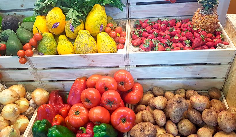 Productos hortofrutícolas de Gran Canaria   Foto: José L. Conde