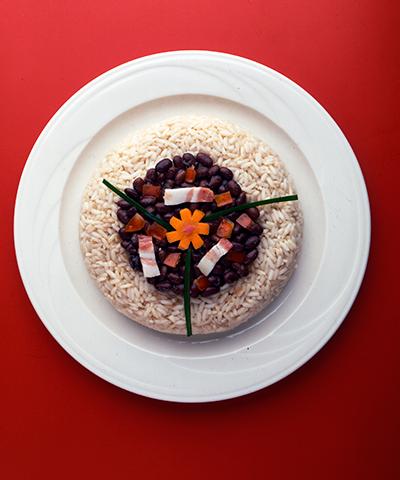 La Bandera es la comida típica para el almuerzo en la República Dominicana | Imágenes cedidas por CATA