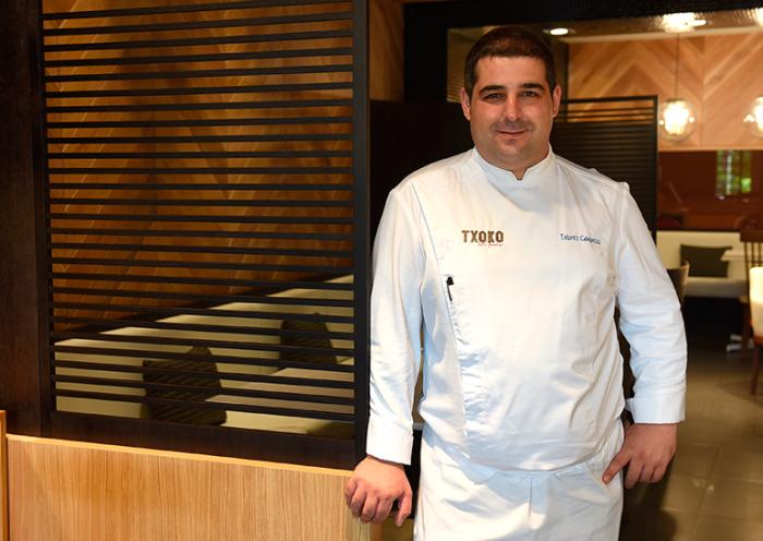 Erlantz Gorostiza, chef del M.B | Foto: Sergio Méndez