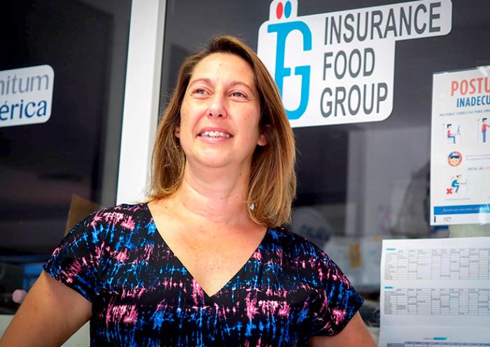 Iasmina Ocete, experta en seguridad alimentaria | Foto: Sergio Méndez