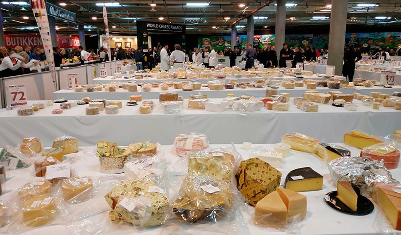 Imagen de archivo de una de las ediciones del World Cheese Award