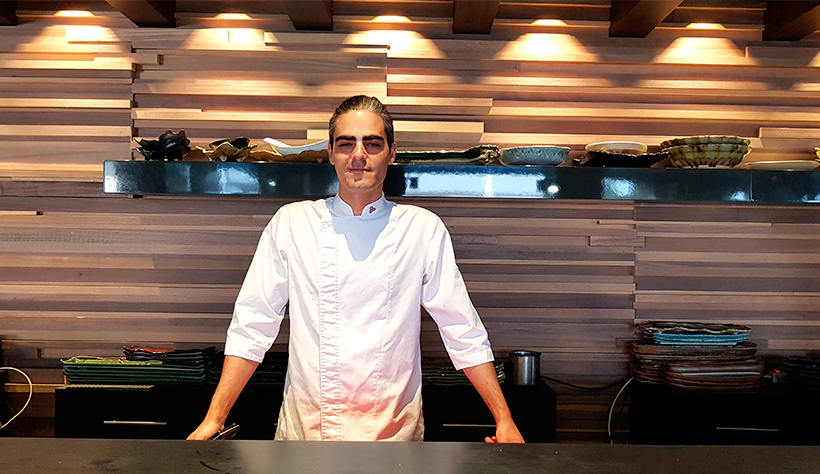 David Rivero, chef del Kabuki | Foto: José L. Conde
