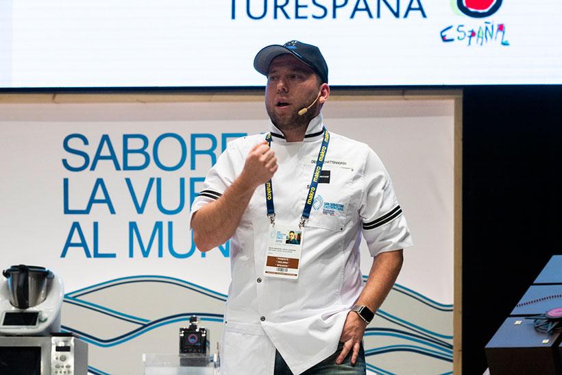Diego Schattenhofer, durante su participación, el año pasado, en Gastronomika | Foto: Coconut