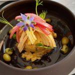 Ensaladilla con curry, pollo y edamame de naranja | Foto: José L. Conde