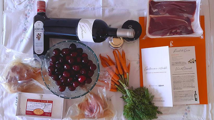 La cesta de productos sostenibles de septiembre de El Celler de Can Roca y BBVA | Foto: José L. Conde