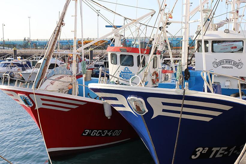 Pesquero de la flota canaria