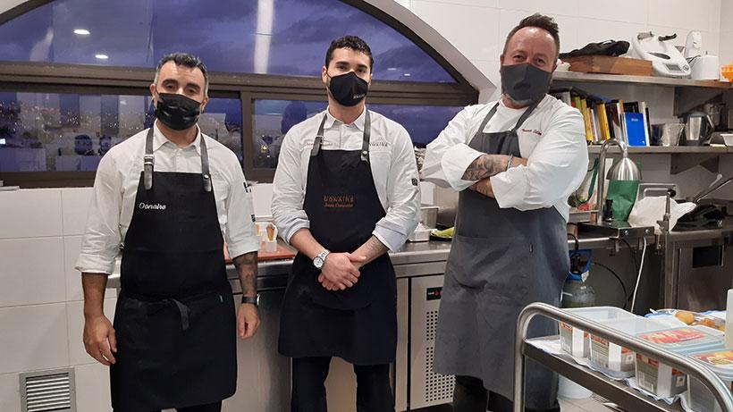 De izquierda a derecha, Fran Expósito, Jesús Camacho y Armando Saldanha | Foto: José L. Conde