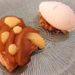 Tarta de manzana con crema de limón| Foto: José L. Conde