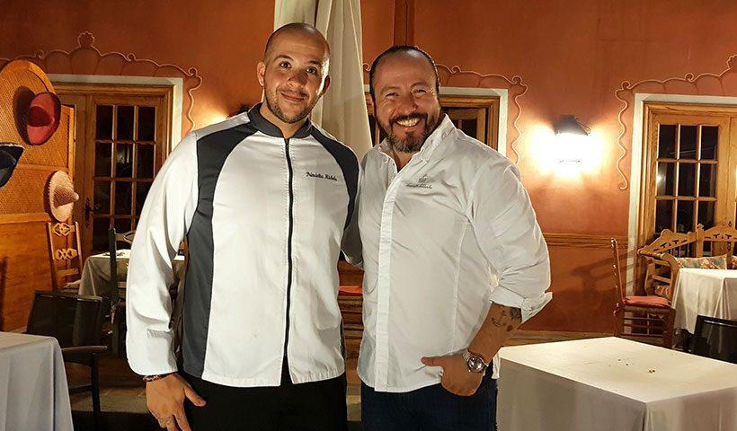 Michele Princiotta (i) y Armando Saldanha   Foto J. L. Conde