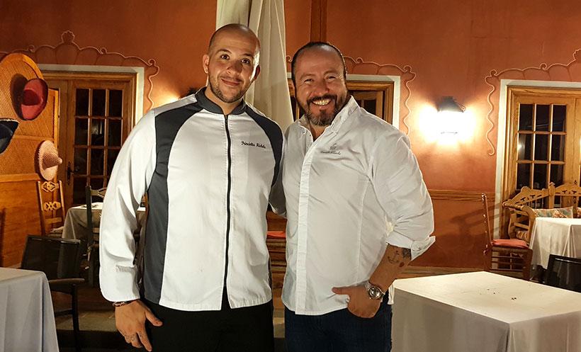 Michele Princiotta (i) y Armando Saldanha | Foto J. L. Conde