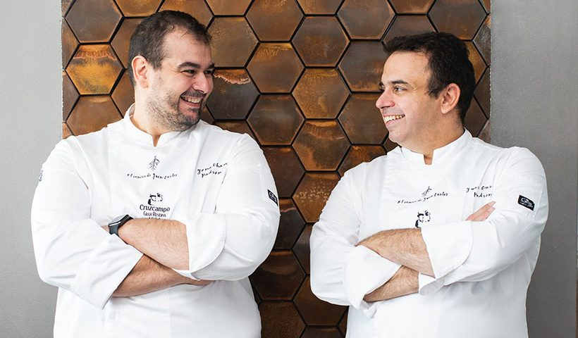 Los hermanos Jonathan (i) y Juan Carlos Padrón