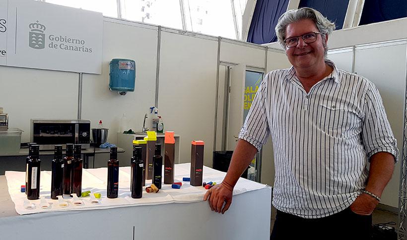 Felipe Monje, durante una cata de vinagre | Foto: José L. Conde