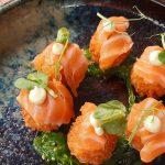 Croquetas de kimchi y salmón   Foto: José L. Conde