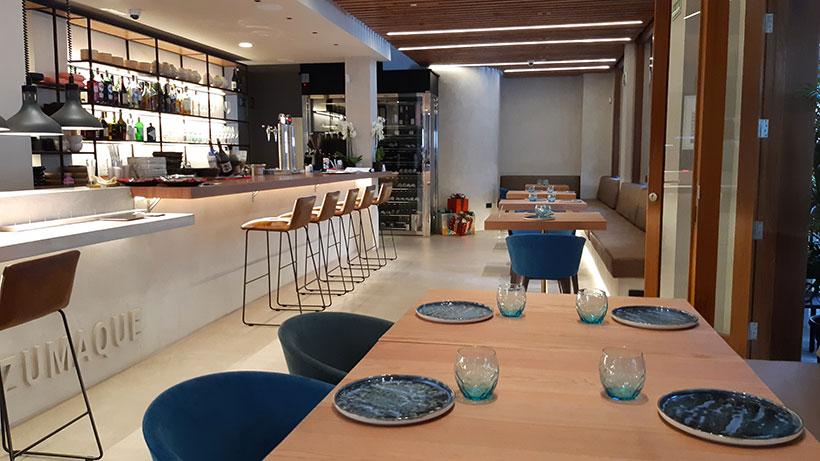 Vista del interior del restaurante   Foto: José L. Conde