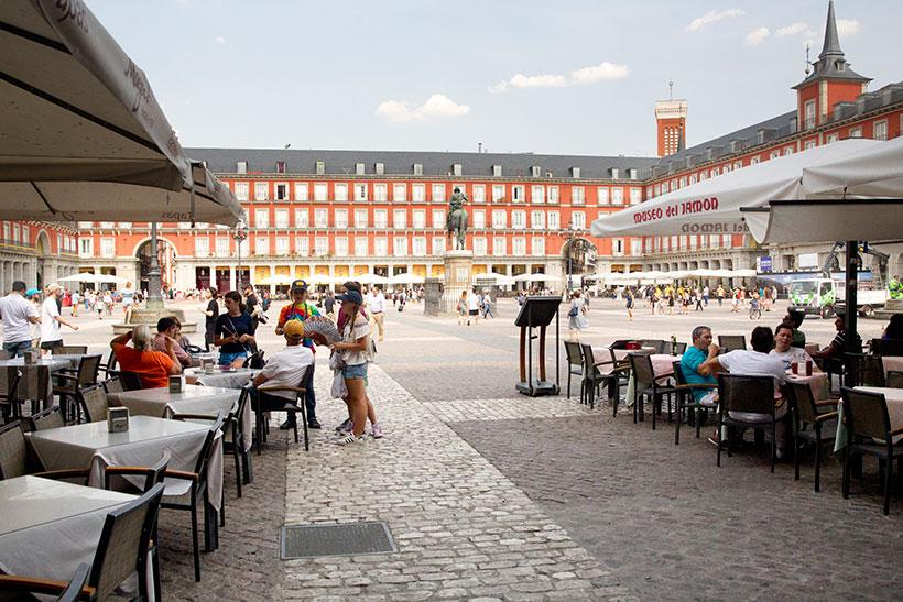 Plaza Mayor de Madrid | Foto: EFE