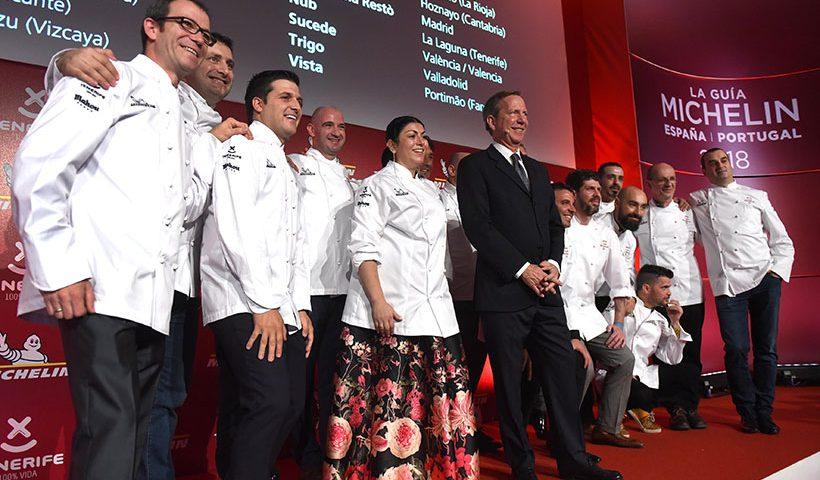 Imagen de la Gala Michelin celebrada en Tenerife | Foto: Sergio Méndez