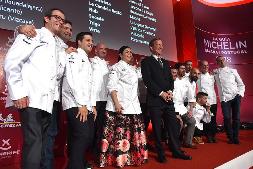 Imagen de la Gala Michelin celebrada en Tenerife   Foto: Sergio Méndez