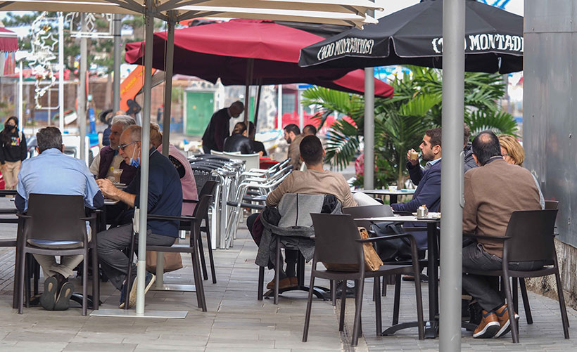 Las terrazas no están al alcance de todos los restaurantes | Foto: Sergio Méndez
