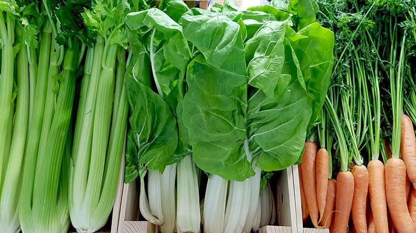 La FAO y la OMS recomiendan el consumo por cada adulto de al menos 400 gramos de frutas y hortalizas al día | Foto: José L. Conde