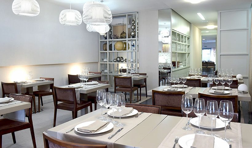 Vista del comedor del restaurante Solana | Foto: Sergio Méndez