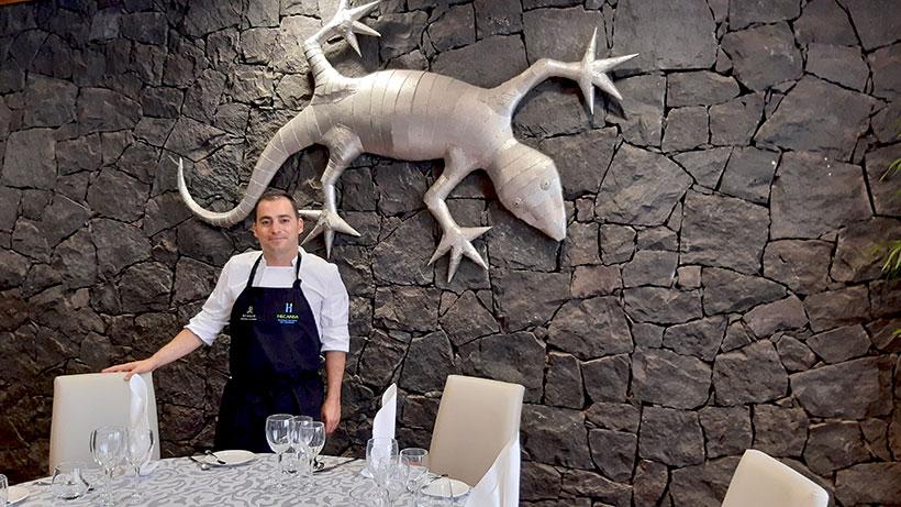 Miguel Navarro, chef del restaurante Es Fum | Foto: José L. Conde