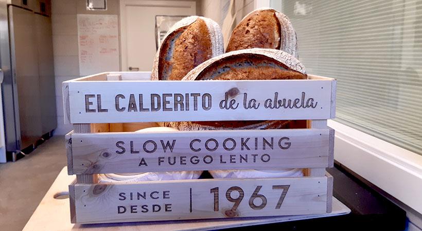 El pan que elabora Mario Torres en El Calderito de la Abuela | Foto: José L. Conde