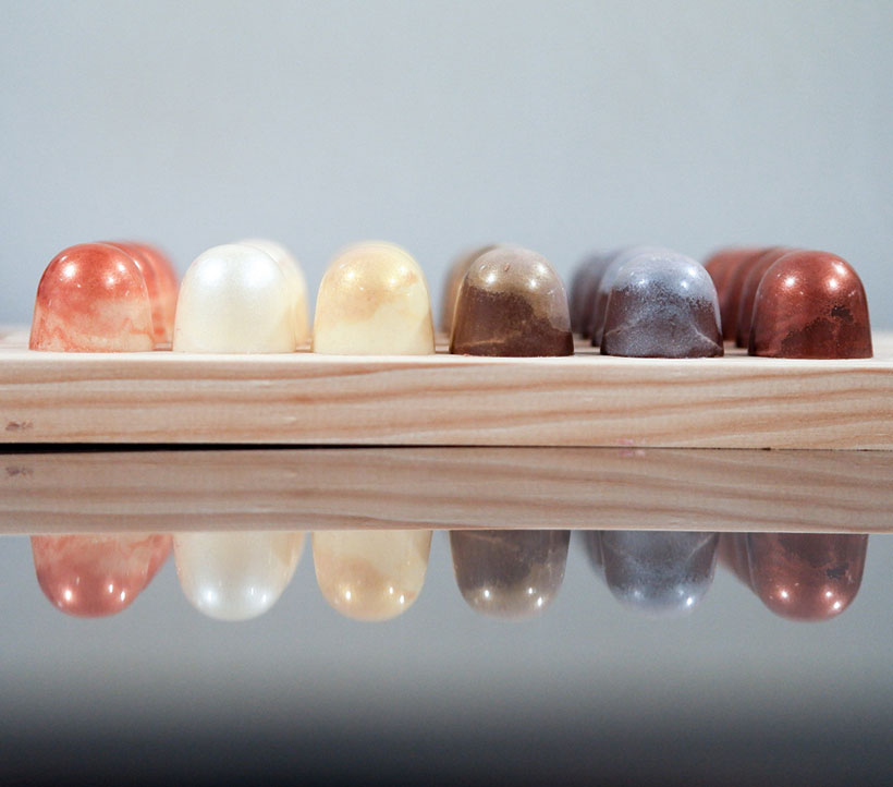 Algunos de los bombones elaborados en 24 Onzas | Foto: 24 Onzas