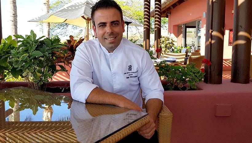 César González, chef de El Mirador   Foto: José L. Conde