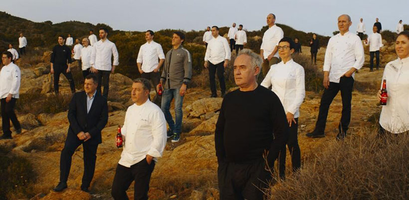 Estrella Damm ha reunido a 42 chefs para anunciar su cerveza