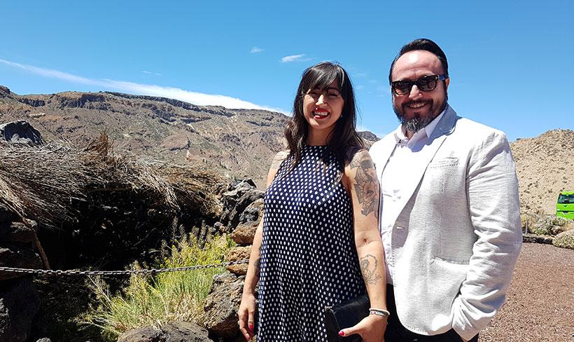Armando Saldanha y Patricia Sáez de El Gato Negro | Foto: José L. Conde