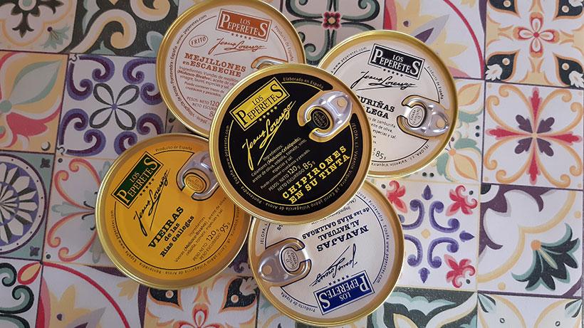 En Bon Vivant se puede adquirir un surtido de conservas gourmet de Los Peperetes | Foto: José L. Conde