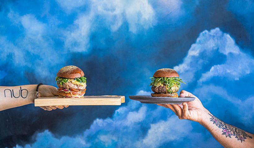 La hamburguesa Michelin de Nub y Beers | Foto: Marhú McCormick