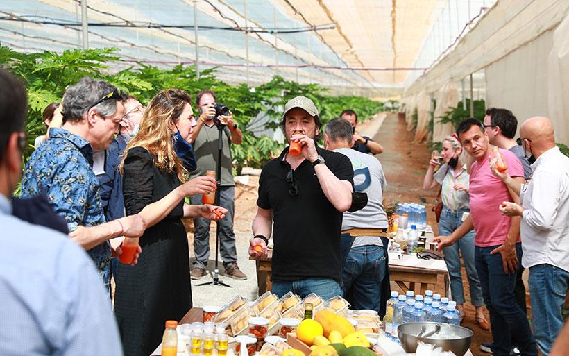 Chefs e invitados prueban productos de Gran Canaria