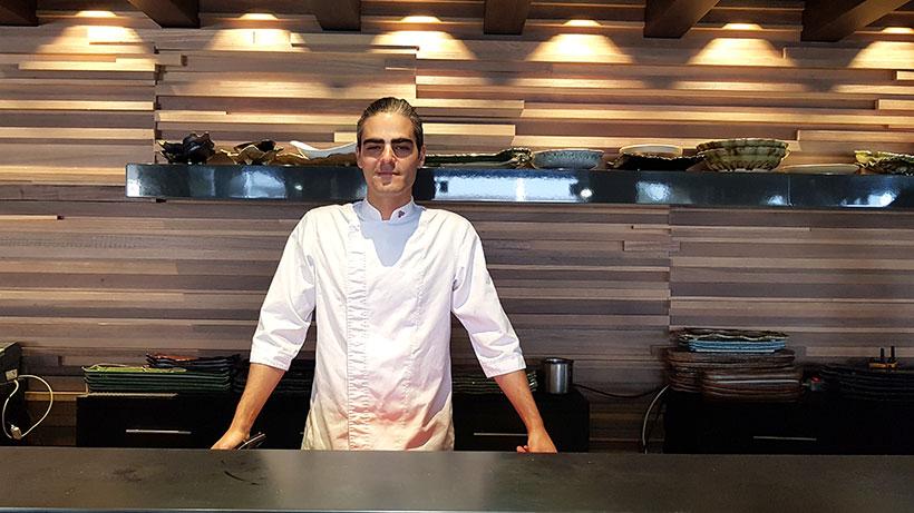 David Rivero, chef del restaurante japonés Kabuki   Foto: José L. Conde