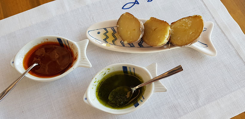 El concurso tiene dos categorías:  mejor mojo y mejor plato con mojo | Foto: José L. Conde