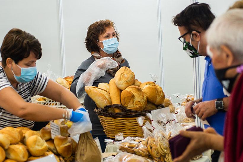 Uno de los puestos de venta de la Feria Gran Canaria Me Gusta